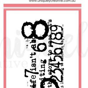 Uniquely Creative - Numeric Mark