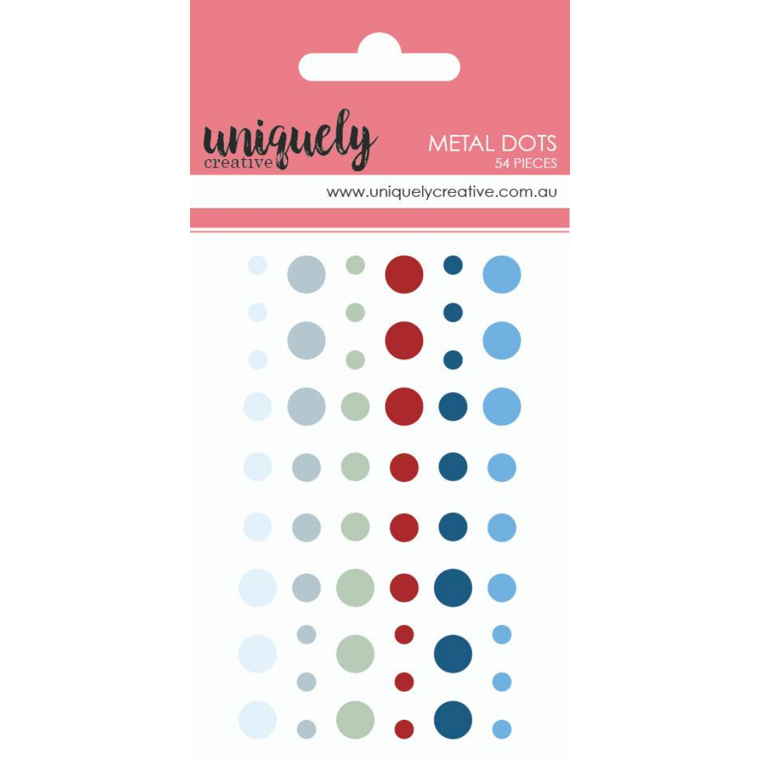 Uniquely Creative - Once upon a Christmas - Enamel Dots