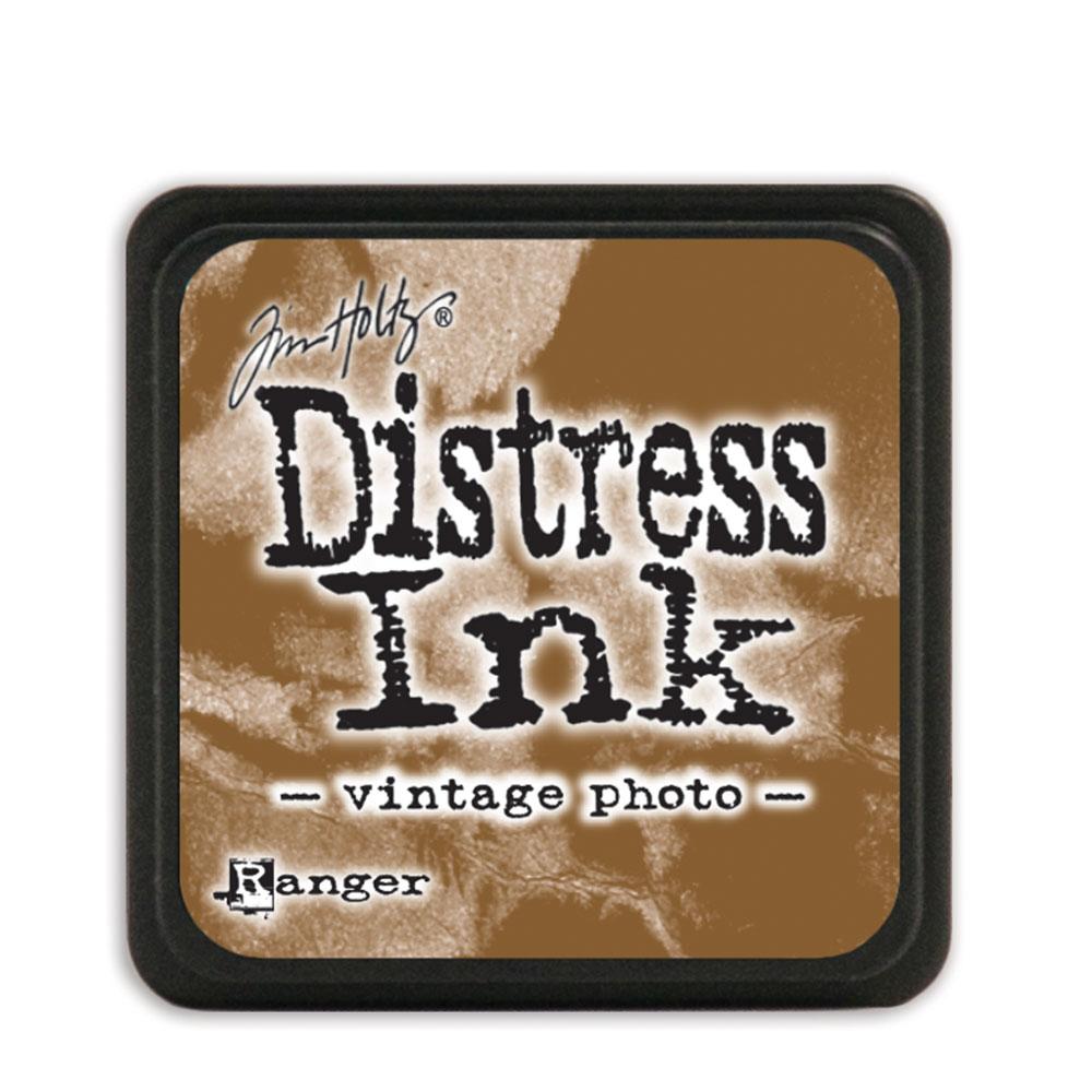 Tim Holtz Distress Ink - Mini Pad - Vintage Photo