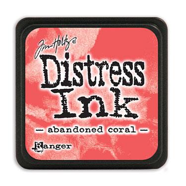 Tim Holtz Distress Ink - Mini Pad - Abadoned Coral