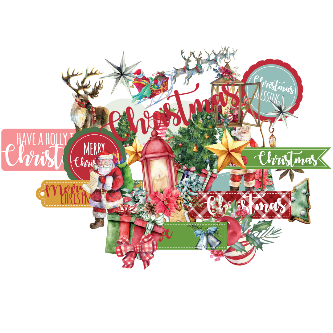 Uniquely Creative - Holly Jolly Christmas - Creative Cuts