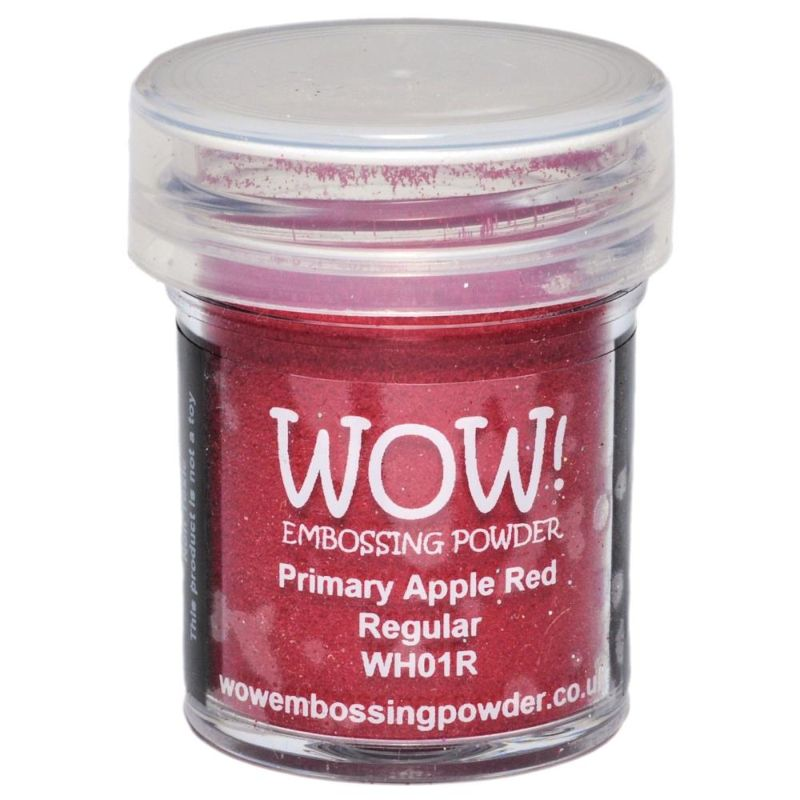 WOW Embossing - Primary Apple Red