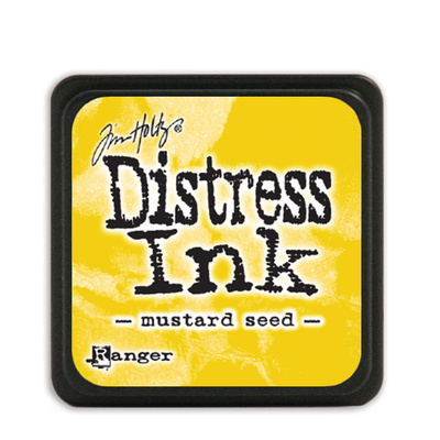 Tim Holtz Distress Ink - Mini Pad - Mustard Seed