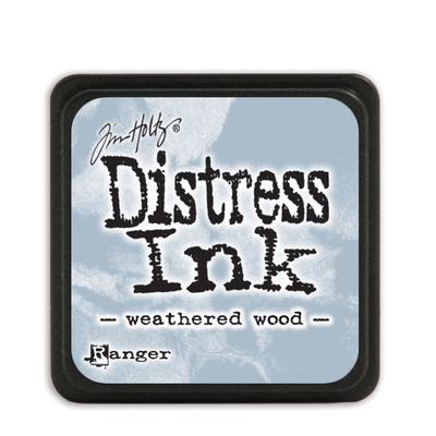 Tim Holtz Distress Ink - Mini Pad - Weathered Wood