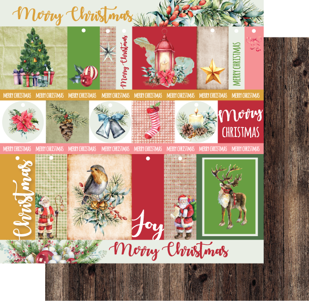 Uniquely Creative - Holly Jolly Christmas - Paper - Christmas