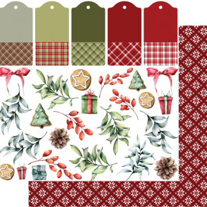 Uniquely Creative - Holly Jolly Christmas - Paper - Gifts