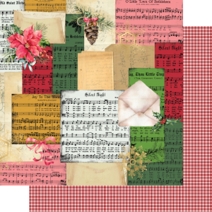 Uniquely Creative - Holly Jolly Christmas - Paper - Silent Night
