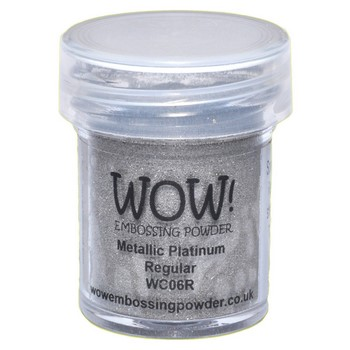 WOW Embossing - Metallic Platinum
