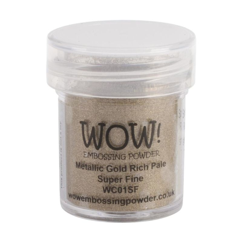 WOW Embossing - Metallic Gold Rich Pale