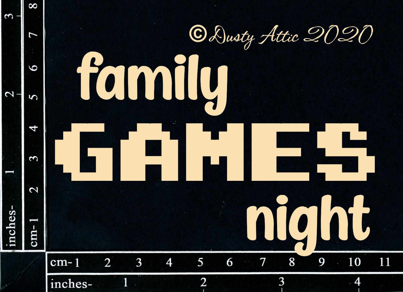 Dusty Attic - Family Games Night