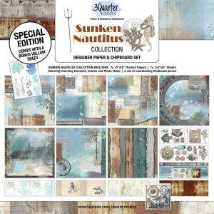 3 Quarter Designs - Sunken Nautilus Collection