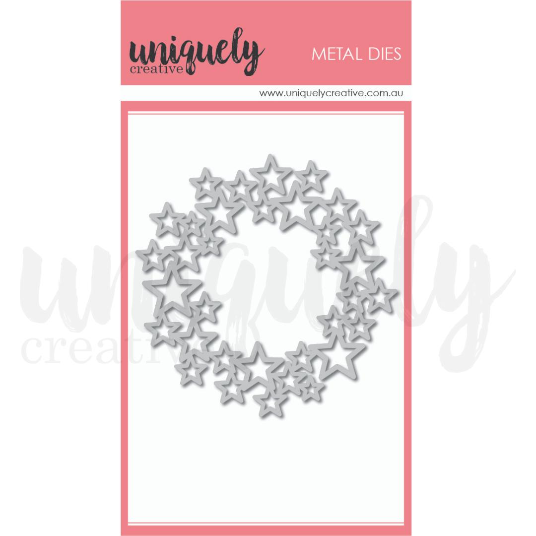 Uniquely Creative Die - Star Wreath Die