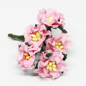 Mulberry Flowers - Gardenia - Small - Pale Pink