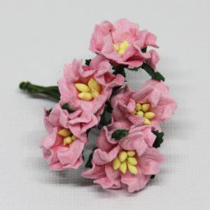 Mulberry Flowers - Gardenia - Small - Pink