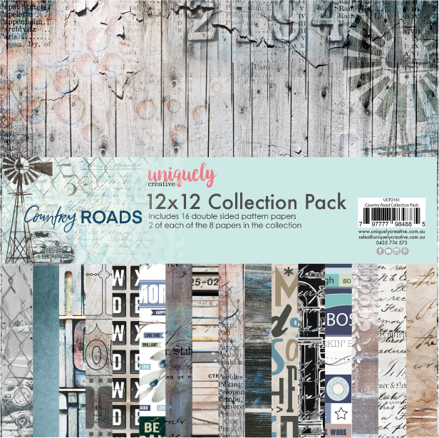 Uniquely Creative - Country Roads - Collection pack