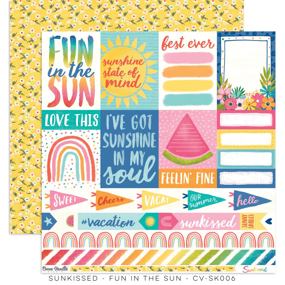 Cocoa Vanilla - Sunkissed - Paper - Fun in the Sun