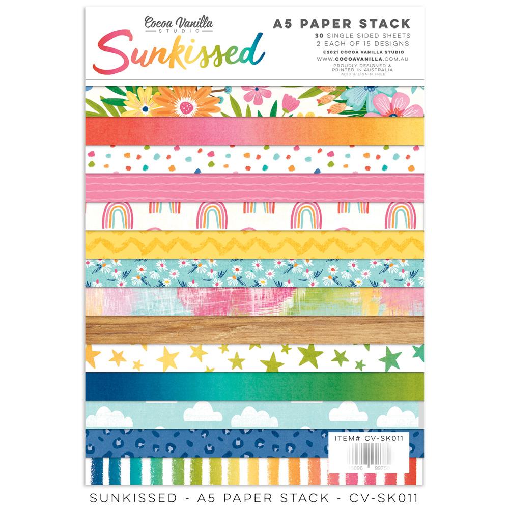 Cocoa Vanilla - Sunkissed - Paper Stack A5