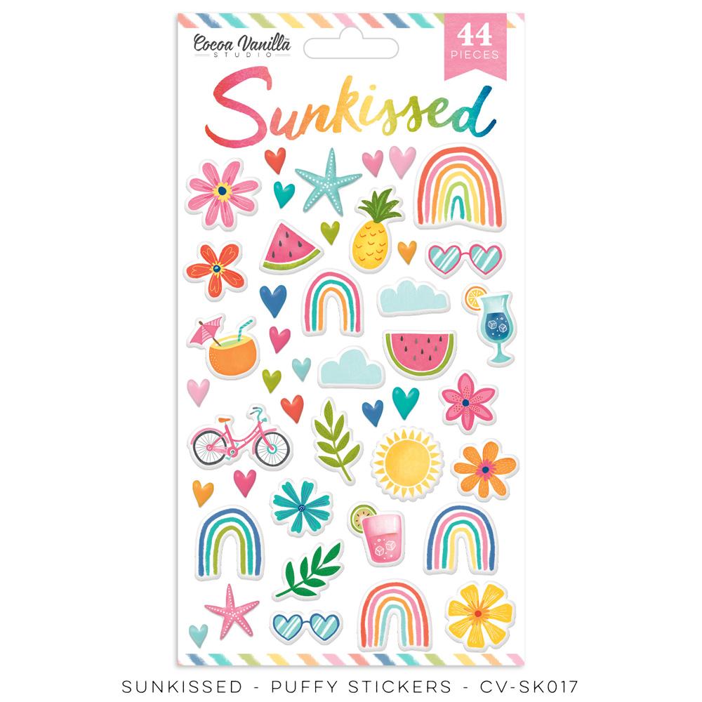 Cocoa Vanilla - Sunkissed - Puffy Stickers