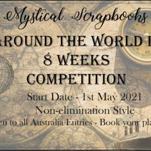 Around the World in 8 Weeks Embellishment Kit