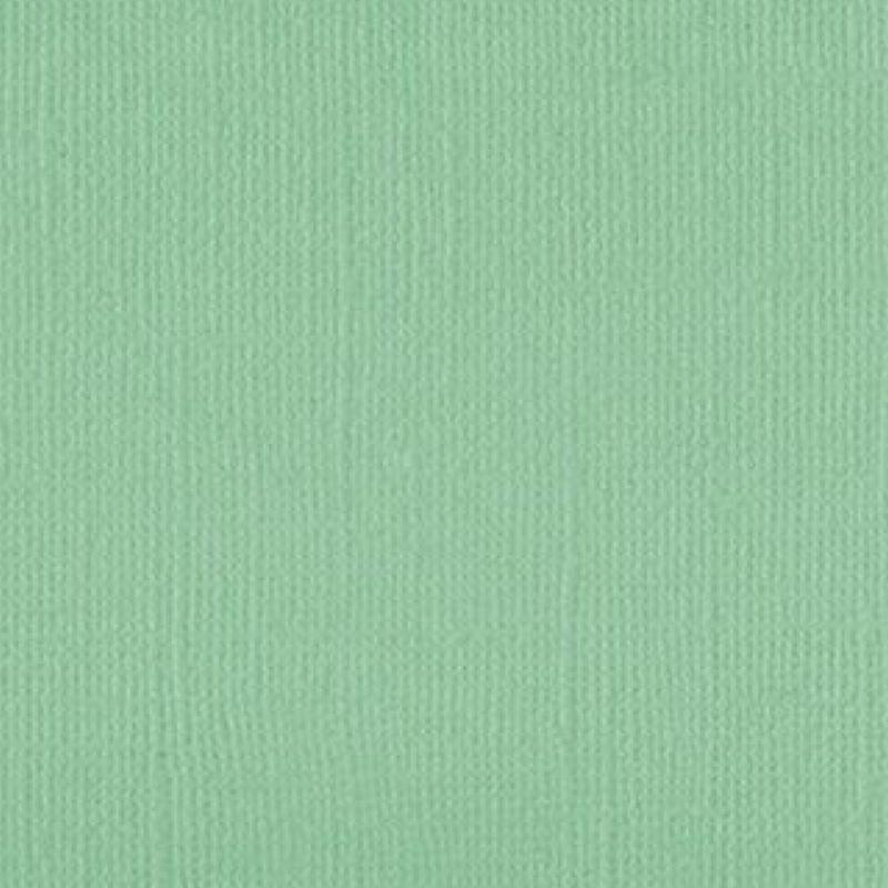 Linen Cardstock - Gum Leaf