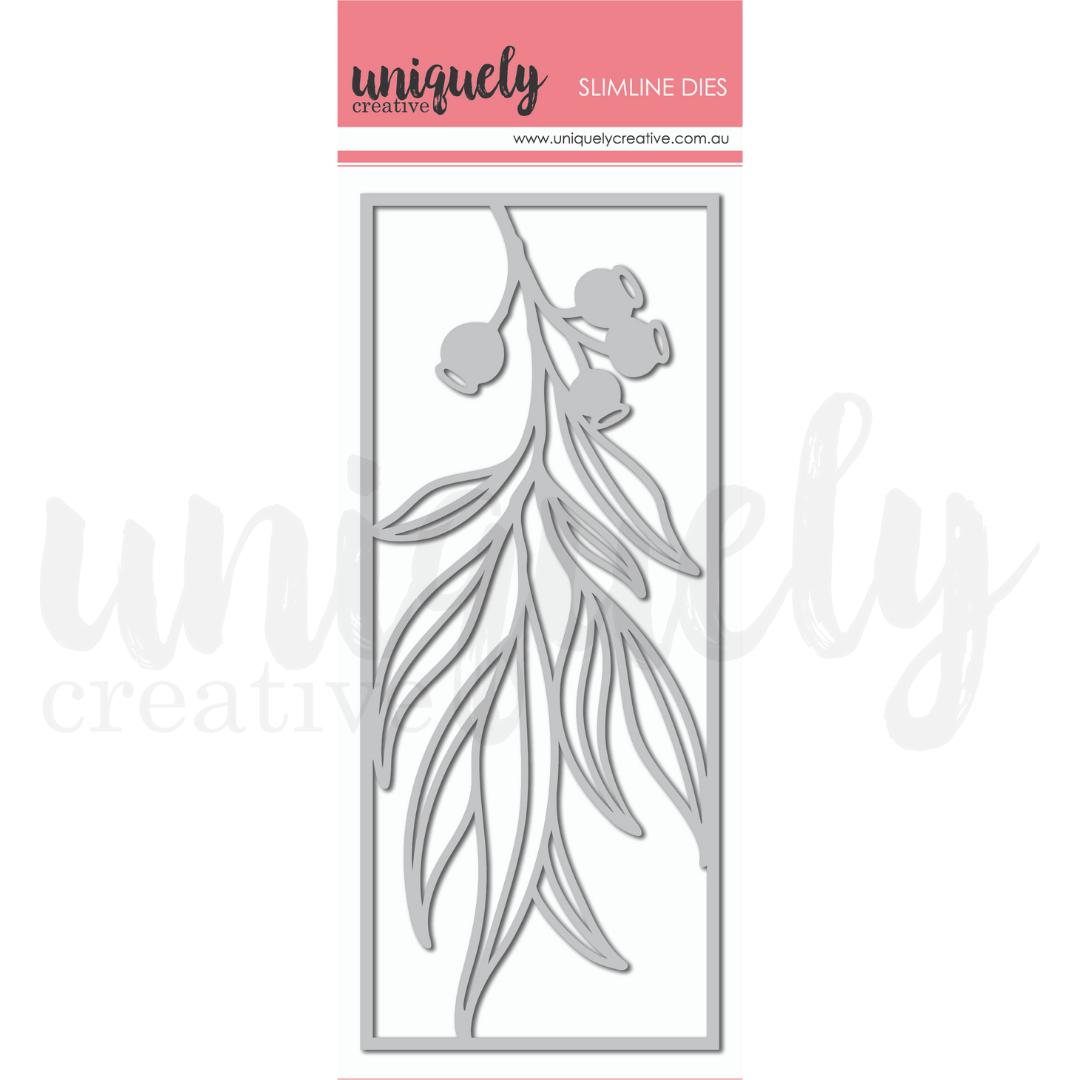 Uniquely Creative - Outback Divine - Die - Slim Gum Leaves