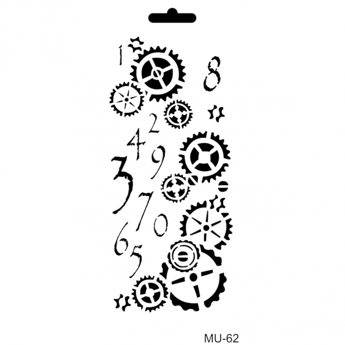 Cadence Mix Media Stencil - MU62
