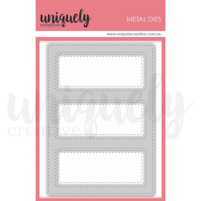 Uniquely Creative Die - Stitched Window Frame