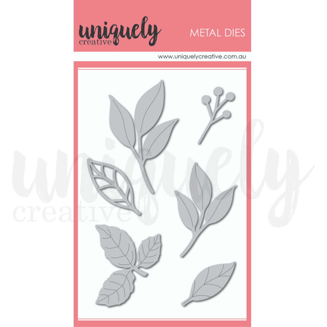 Uniquely Creative - Roots & Wings - Die - Mixed Leaves