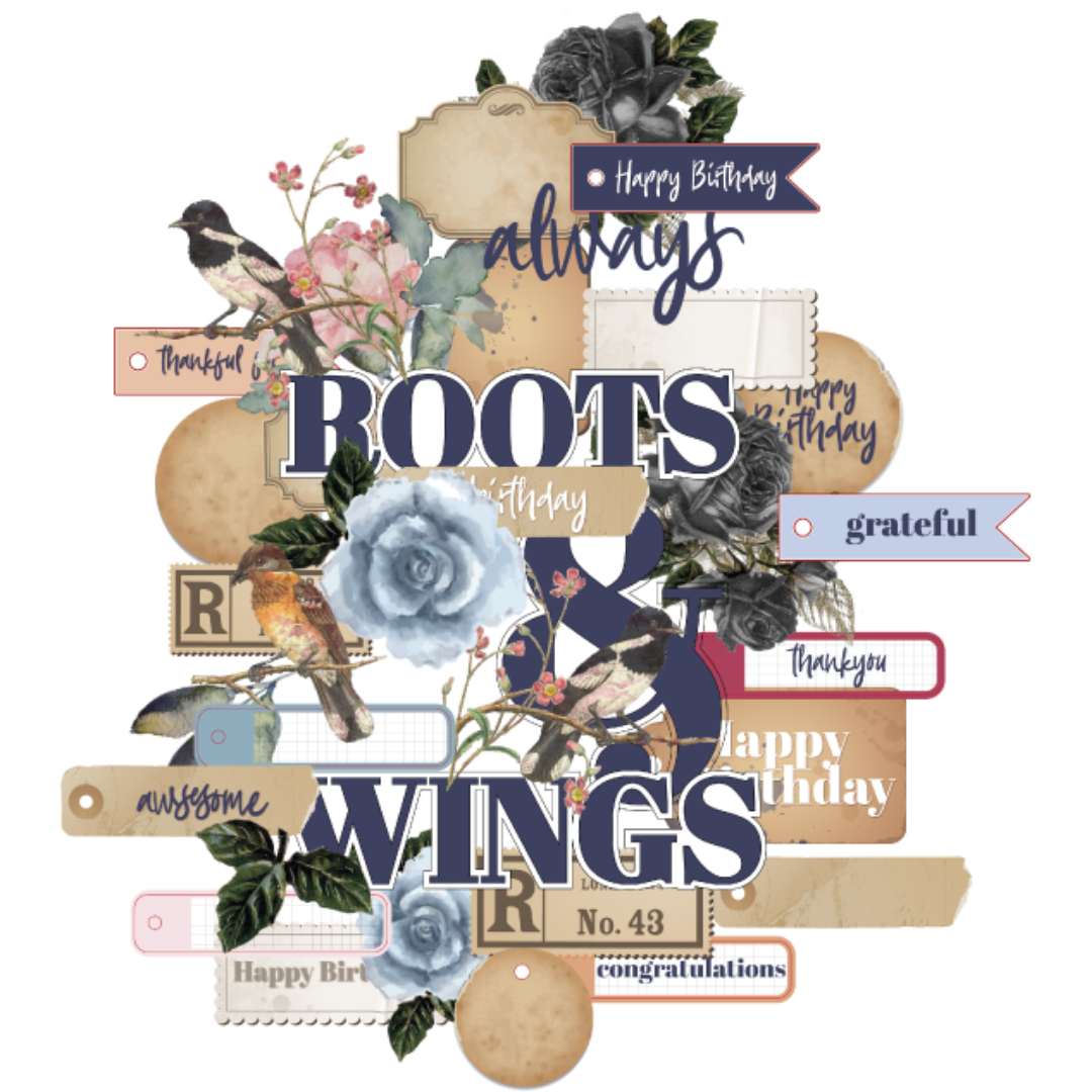 Uniquely Creative - Roots & Wings - Creative Cuts