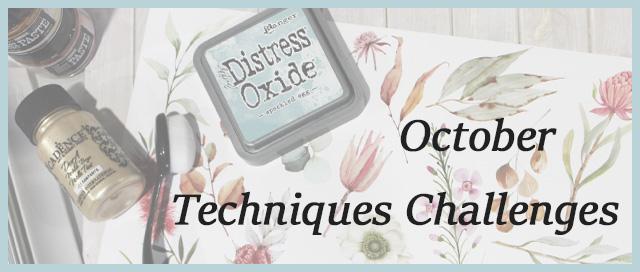 October Challenge reveal – Techniques Challenge